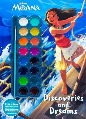 Cover of Disney Moana Discoveries and Dreams