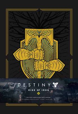 Cover of Destiny: Rise of Iron: Blank Hardcover Sketchbook