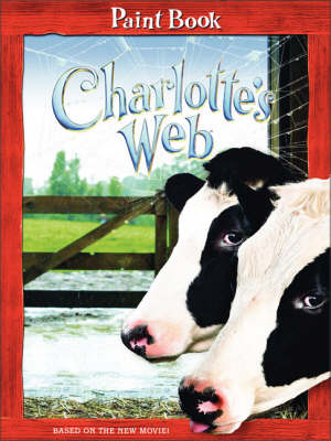 Book cover for Charlotte's Web: Paint Book