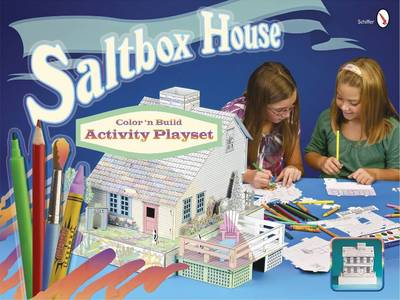 Cover of Saltbox House: Color n Build Activity Playset