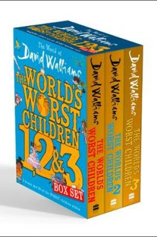 Cover of The World of David Walliams: The World's Worst Children 1, 2 & 3 Box Set