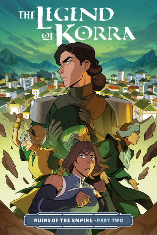 Book cover for Legend Of Korra, The: Ruins Of The Empire Part Two