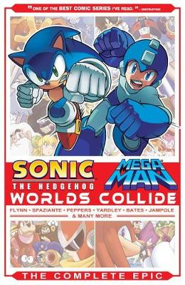 Cover of Sonic / Mega Man: Worlds Collide