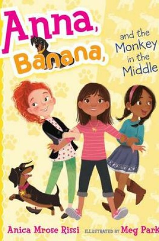Cover of Anna, Banana, and the Monkey in the Middle, 2