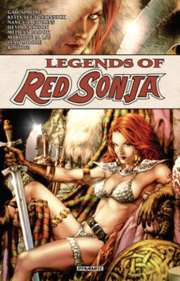 Book cover for Legends of Red Sonja