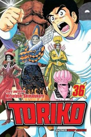 Cover of Toriko, Vol. 36