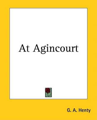 Cover of At Agincourt