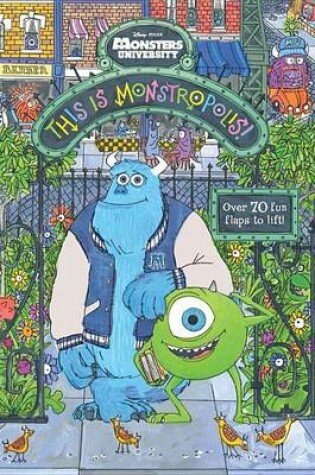Cover of This Is Monstropolis!