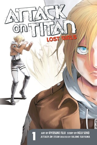 Cover of Attack on Titan: Lost Girls The Manga 1