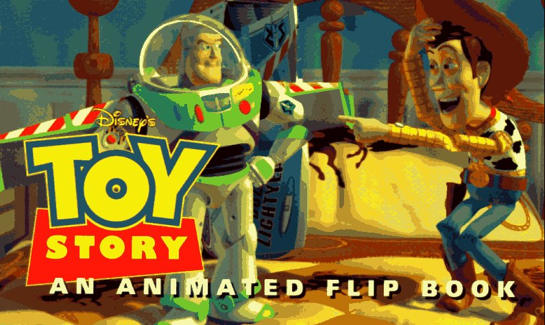 Book cover for Toy Story: Flip Book