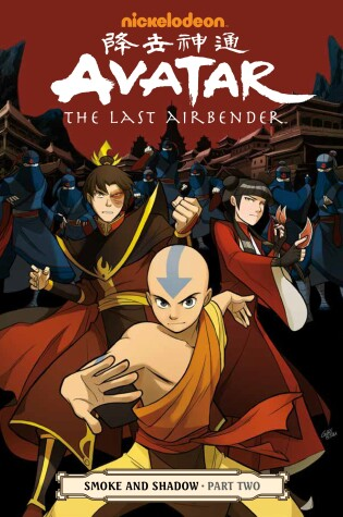 Cover of Avatar: The Last Airbender - Smoke And Shadow Part 2