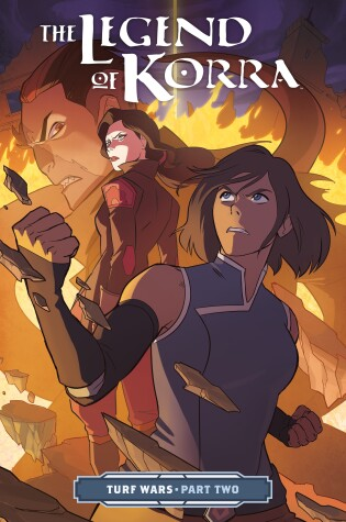 Cover of The Legend of Korra Turf Wars Part Two