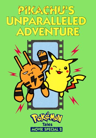Cover of Pikachu Unparalleled Adventure