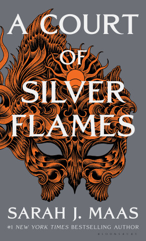 Book cover for A Court of Silver Flames