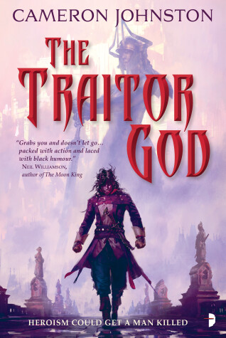Book cover for The Traitor God