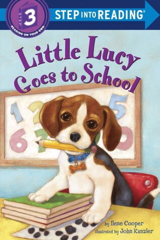 Book cover for Little Lucy Goes to School