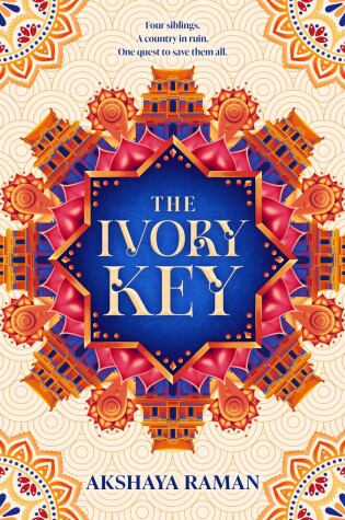 Book cover for The Ivory Key