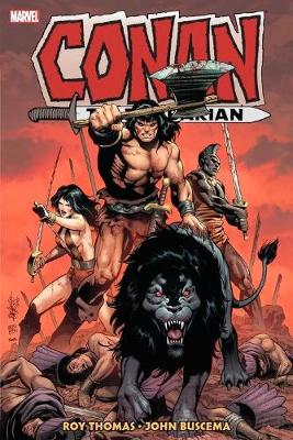 Cover of Conan The Barbarian: The Original Marvel Years Omnibus Vol. 4
