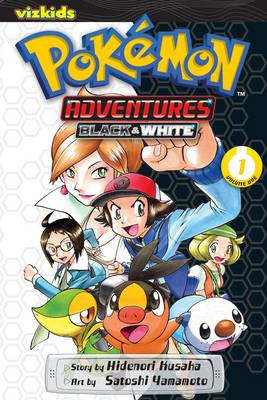 Book cover for Pokemon Adventures: Black and White, Vol. 1
