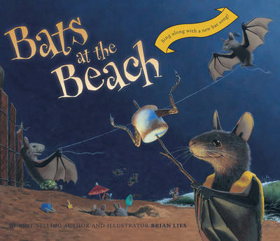 Cover of Bats at the Beach Lap Board Book