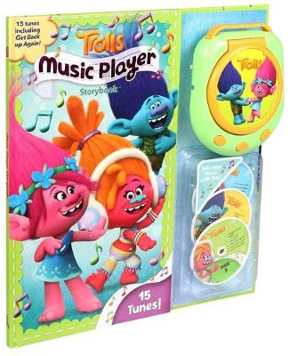 Cover of DreamWorks Trolls Music Player Storybook