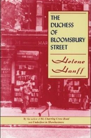 Cover of The Duchess of Bloomsbury Street