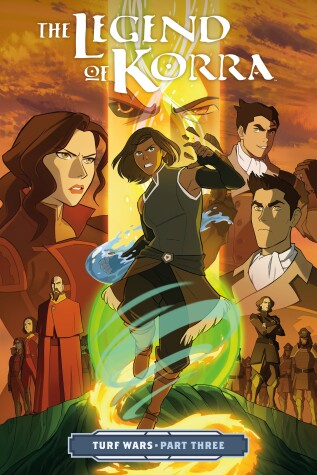 Cover of The Legend of Korra: Turf Wars Part Three