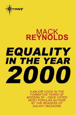 Cover of Equality In the Year 2000