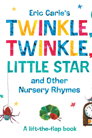 Cover of Eric Carle's Twinkle, Twinkle, Little Star and Other Nursery Rhymes