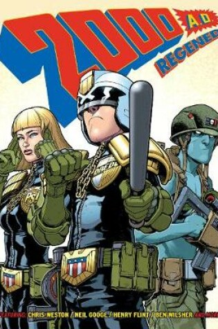 Cover of 2000 AD Regened Volume 1