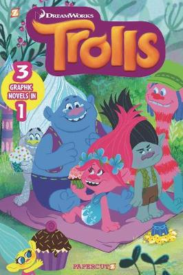 Book cover for Trolls 3-in-1 #1