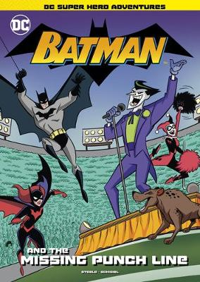 Book cover for Batman and the Missing Punch Line