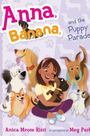 Cover of Anna, Banana, and the Puppy Parade