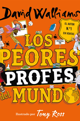Cover of Los peores profes del mundo / The World's Worst Teachers