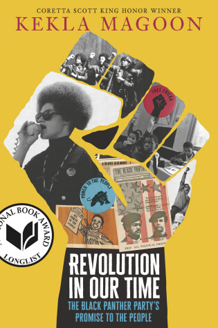 Cover of Revolution in Our Time: The Black Panther Party's Promise to the People