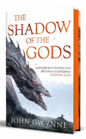 Cover of The Shadow of the Gods