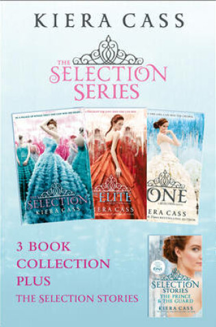 Cover of The Selection series 1-3 (The Selection; The Elite; The One) plus The Guard and The Prince