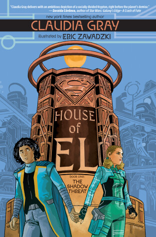 Book cover for House of El Book One: The Shadow Threat