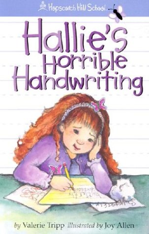 Cover of Hallie's Horrible Handwriting