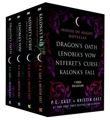 Book cover for The House of Night Novellas, 4-Book Collection