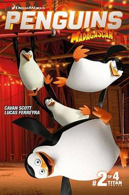 Book cover for Penguins of Madagascar #2.2