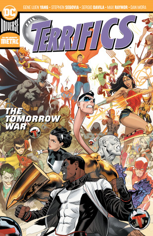 Book cover for The Terrifics Vol. 4: The Tomorrow War