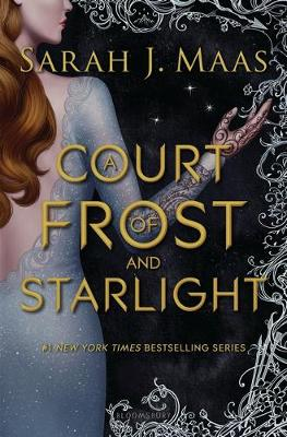 Book cover for A Court of Frost and Starlight
