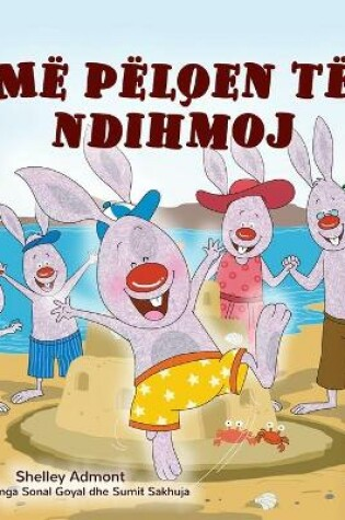 Cover of I Love to Help (Albanian Children's Book)