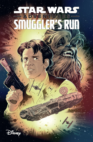 Book cover for Star Wars Adventures: Smuggler's Run