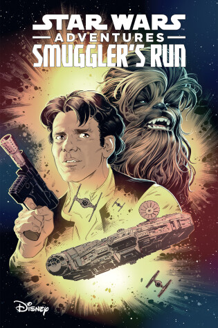 Cover of Star Wars Adventures: Smuggler's Run