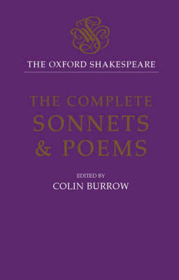 Cover of The Complete Sonnets and Poems