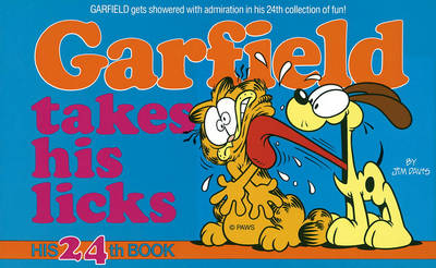 Cover of Garfield Takes His Licks