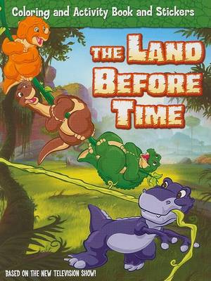 Book cover for The Land Before Time