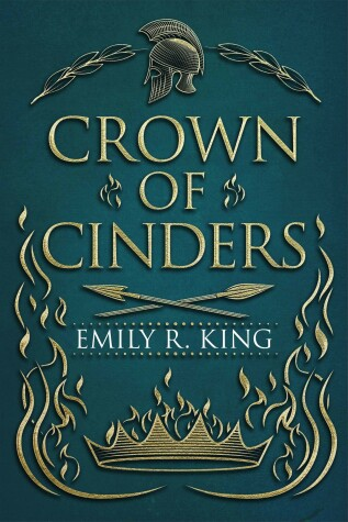Book cover for Crown of Cinders